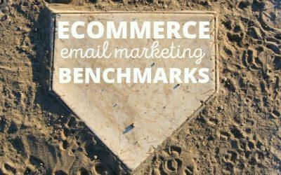 Ecommerce email marketing benchmarks