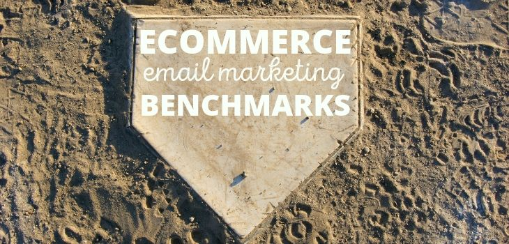 Ecommerce-email marketing benchmarks