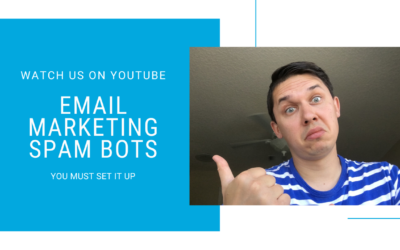 Email Marketing Spam Bots – YOU MUST SET IT UP
