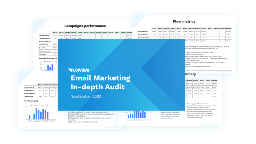 Email marketing in-depth audit