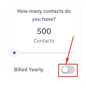 Activecampaign pricing and cost depend on the amount of active contacts.