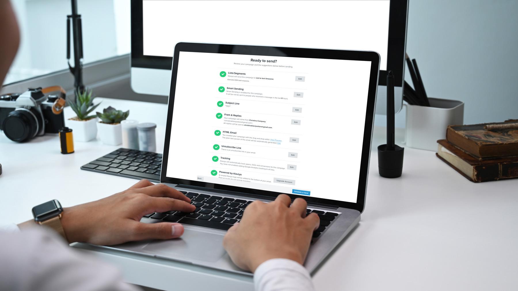 Klaviyo vs. Shopify Email for email marketing.