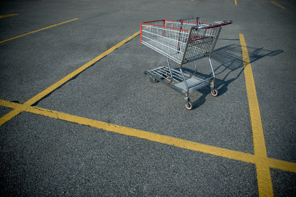 Find out your average abandonment cart rate.