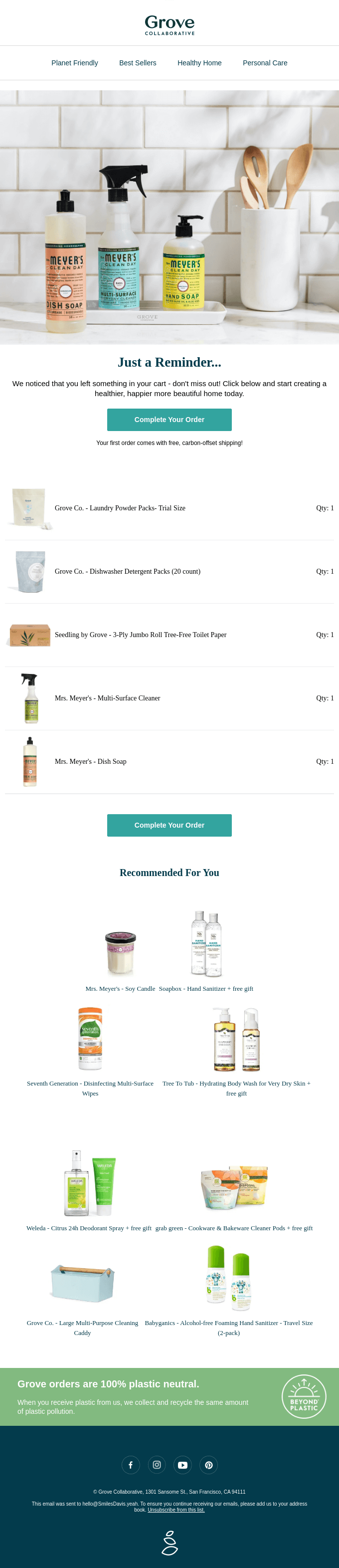 Best abandoned cart emails for Shopify.